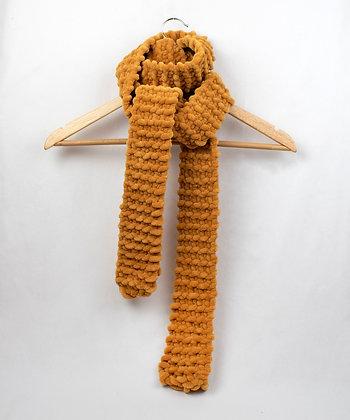 Soft Woven Scarf - Mustard - Regular/Long