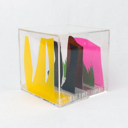Paper Cube - Cityscape - Denver