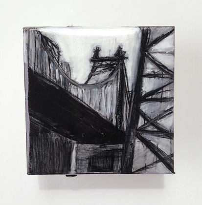 "Queensboro Bridge #3 - 5x5"" study"