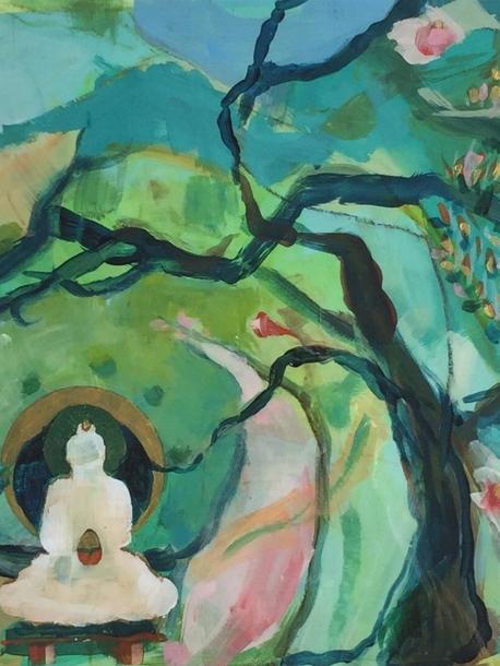 Buddha Under the Oak
