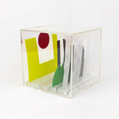 Paper Cube - Cityscape - Cheeseman Park