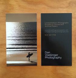 Dan Voellinger Business Card front & back