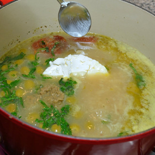 soupe d'olives | olive soup