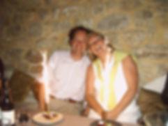 Rob & Karen op huwelijksreis naar la Bui
