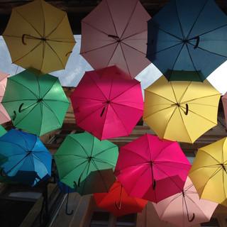 Avignon: les parapluies