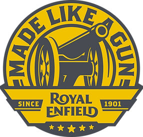 Logo Royal Enfield (Gun) Fahrwerk Frankfurt