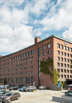 PMK-talo on historiallinen osa Tampereen keskustaa