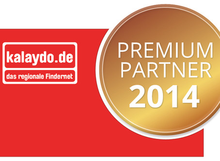 Aussergewöhnliche Qualität der Exposés und Erhalt des Premium-Partner-Siegels Kalaydo 2014