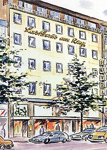 Postkarte Hotel Lasthaus am Ring