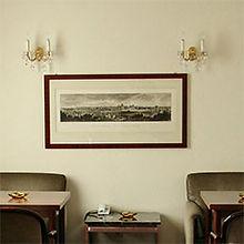 Lounge des Hotel Lasthaus am Ring mitten in Köln