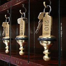 Zimmerschlüssel des Hotel Lasthaus am Ring mitten in Köln