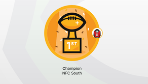 NFC South Takes Home DFFL Title