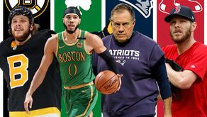 Boston Sports Teams Ranked; March 2020