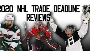 NHL Trade Deadline Reviews