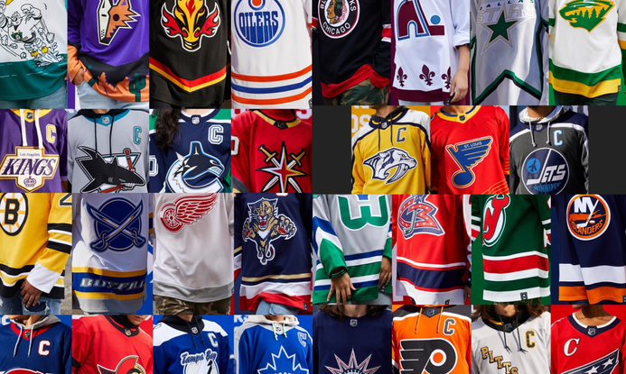 Worst to first - ranking every reverse retro NHL jersey