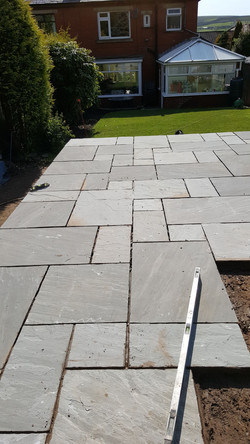 indian stone, Flagging