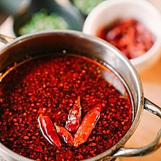 Chongqing Spicy Pot /重庆牛油锅 / Bouillon Chongqing Spicy / 重慶辛口スープ / 충칭식 홍탕(매운맛)