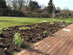 Jardin Privé Paysagiste Phase de réalisation Préparation de la plantation