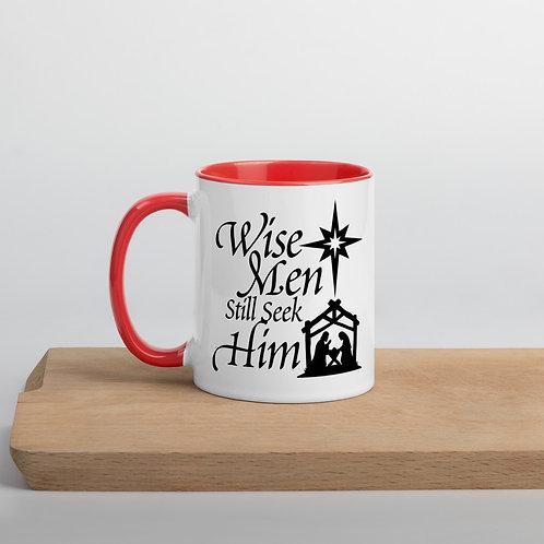 Wise Men Mug with Color Inside