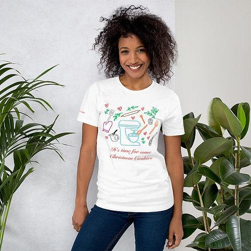 Christmas Cookies Short-Sleeve Unisex T-Shirt