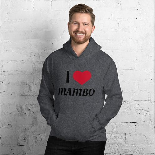 I Love Mambo Unisex Hoodie