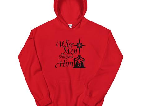 Men's Clothing: Wise Men Christmas Hoodies