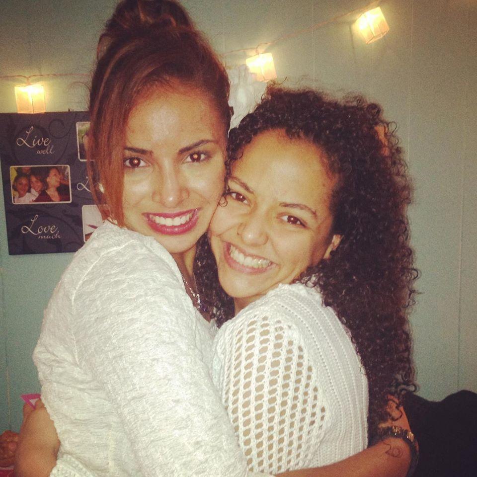 Nadia and Margarita Torres
