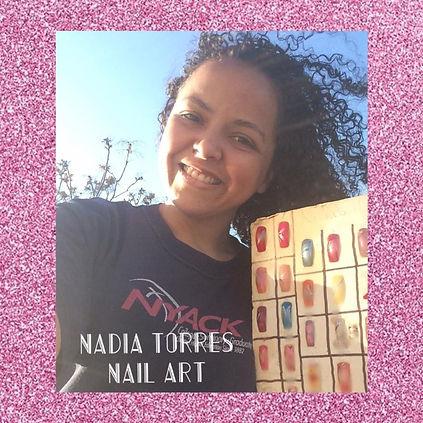 Nadia Torres and Nail Art designs