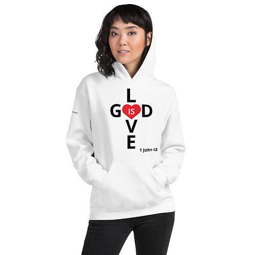 God Is Love Unisex Hoodie