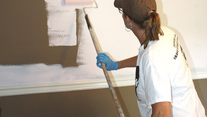 Interior Painting: Application with Brush and Roller