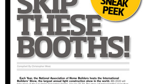Preview of International Builders' Show in our first issue!