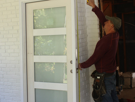 Coming soon: Install a Pre-hung Door in a Stubborn Brick Wall