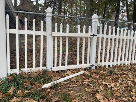 Fix a Vinyl Fence