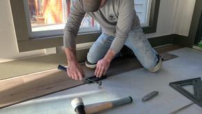Coming soon: Install Waterproof Flooring