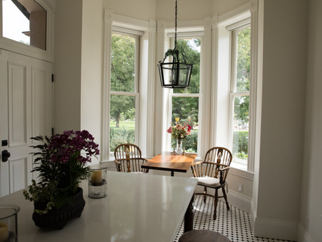 Historic Window Designs Preserve 19th Century Character in Landmark Home