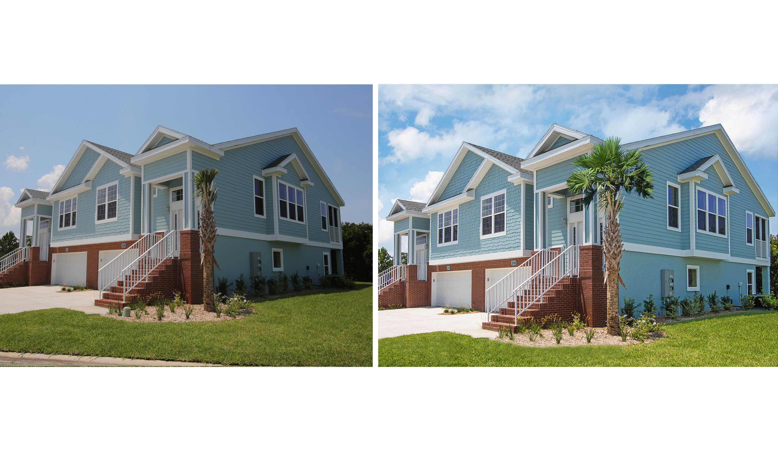 MODEL HOME Before and After