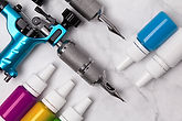 NEW-Multicolored-Ink-Vials-With-Tattoo-G