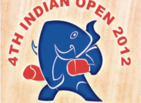 4th INDIAN OPEN NATIONAL KICKBOXING CHAMPIONSHIP-2012, DELHI