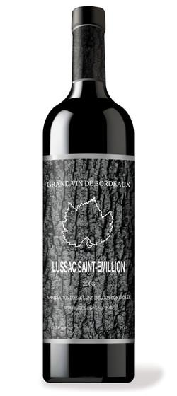 Tree Bottle Black