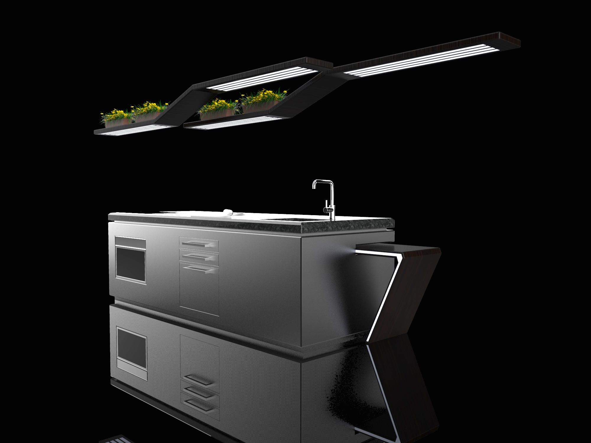 Kitchen design Anno 0