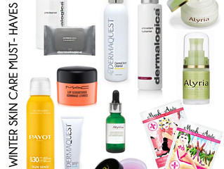 10 WINTER SKINCARE MUST- HAVES
