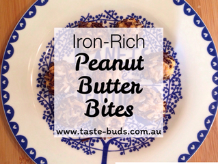 Iron-Rich Peanut Butter Bites