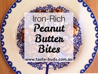 Iron-Rich Peanut Butter Bites