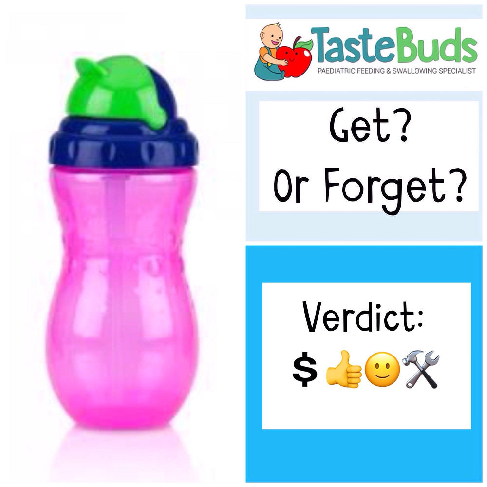 baby feeding product review straw cup speech therapy