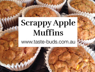 Scrappy Apple Muffins