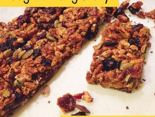 Homemade Muesli Bars (gluten free, nut free, dairy free, egg free!)