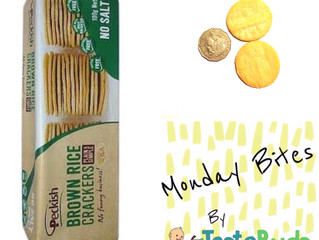Monday Bites - Peckish Brown Rice Crackers