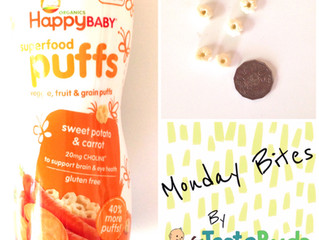 Monday Bites - Happy Baby Superfood Puffs