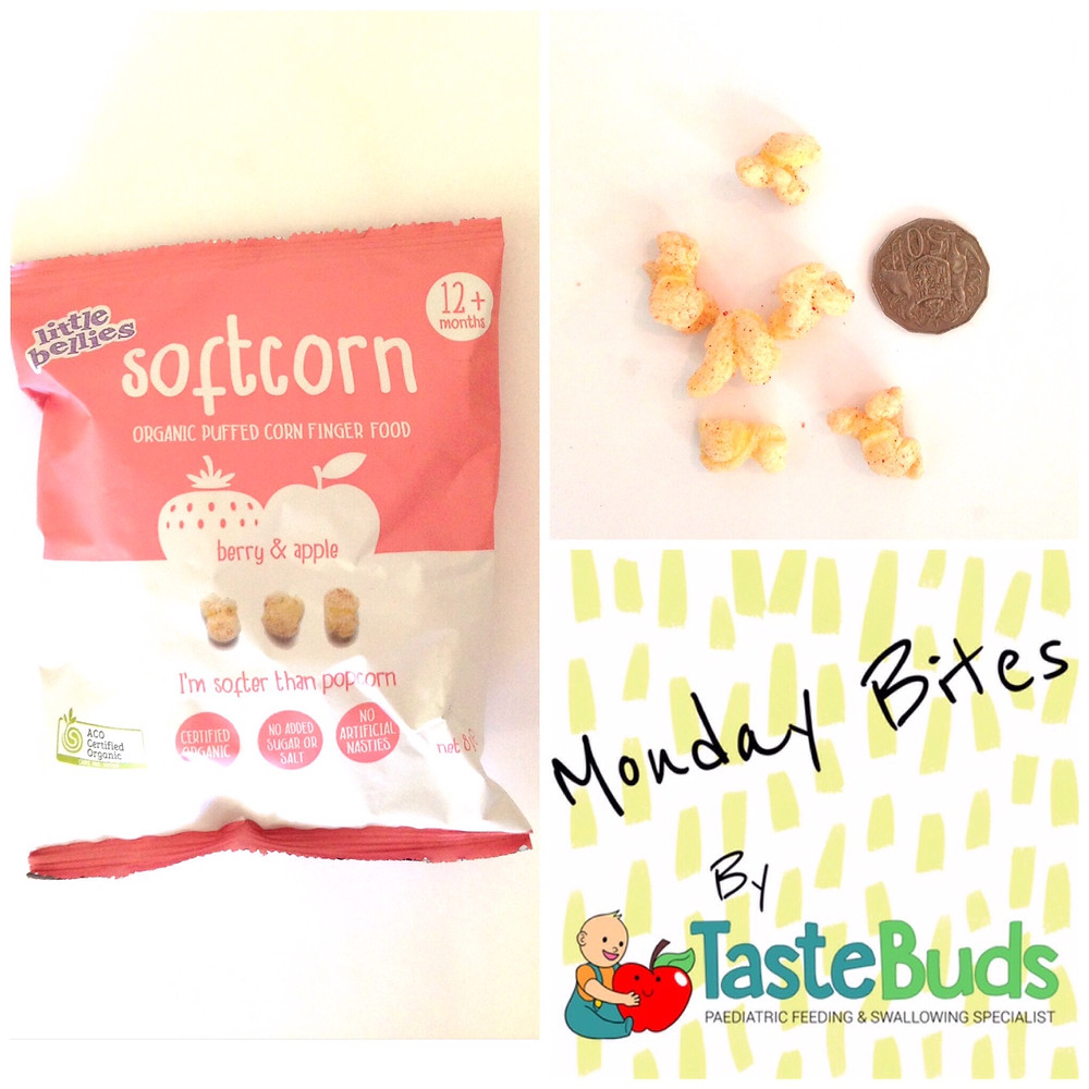 Baby toddler finger food for baby led weaning Little Bellies Softcorn corn food snack
