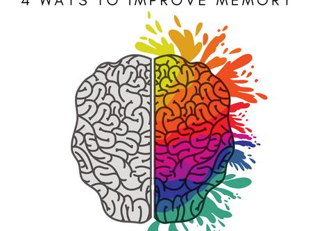 Brain Health: 4 Ways to Improve Memory